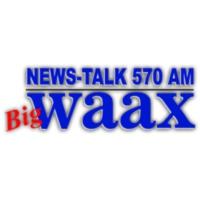 Logo of radio station WAAX News-Talk AM 570