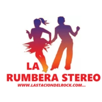 Logo of radio station La Rumbera Stereo