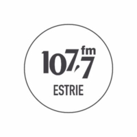 Logo of radio station 107.7 FM Estrie