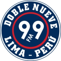 Logo of radio station Radio Doble Nueve