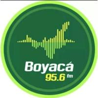 Logo of radio station Boyacá Noticias 95.6FM