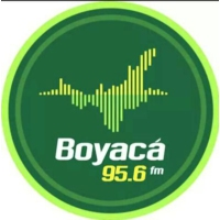 Logo of radio station Boyacá Noticias 95.6FM