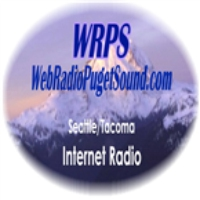 Logo of radio station WRPS WebRadio Puget Sound