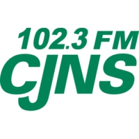 Logo of radio station 102.3 FM CJNS