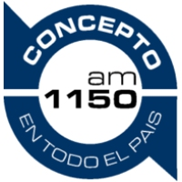Logo of radio station Concepto 1150 AM