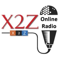 Logo of radio station X2Z Radio