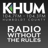 Logo of radio station KHUM