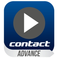 Logo of radio station Contact Advance