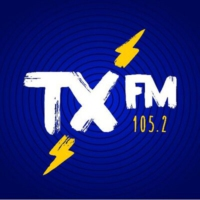 Logo of radio station TX FM 105.2 FM