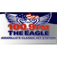 Logo de la radio KXGL - The Eagle 100.9 FM