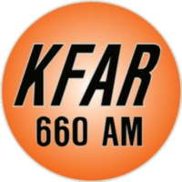 Logo of radio station KFAR 660
