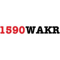 Logo of radio station WAKR 1590