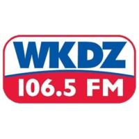 Logo of radio station WKDZ-FM 106.5 FM