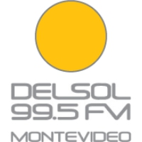Logo of radio station FM Del Sol