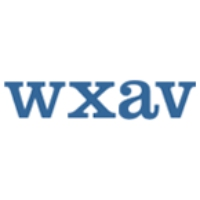 Logo of radio station WXAV