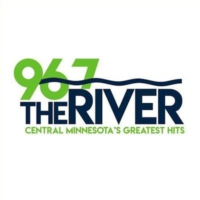 Logo of radio station KZRV 96.7 The River