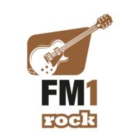 Logo of radio station FM1 Rock
