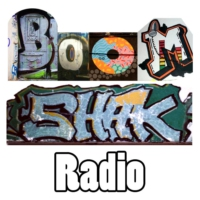 Logo of radio station BoomShak radio