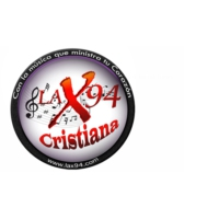 Logo of radio station LA X94 - Radio Cristiana