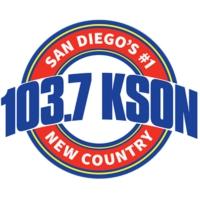 Logo de la radio 103.7 FM KSON