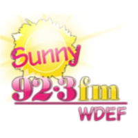 Logo of radio station WDEF Sunny 92.3