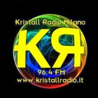 Logo of radio station Kristall Radio Milano