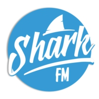 Logo of radio station SharkFM