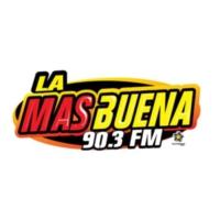 Logo of radio station XHBP La Más Buena 90.3 FM