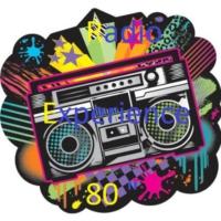"Logo de la radio Radio Experience 80 """