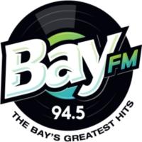 Logo of radio station KBAY 94.5 Bay FM