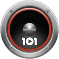 Logo de la radio 101.ru - Metallica