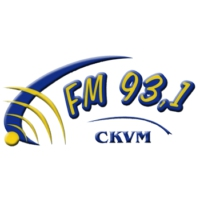 Logo of radio station CKVM 93.1 FM