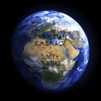 Logo of radio station christian embrace unity