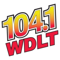 Logo of radio station 104.1 WDLT