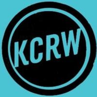 Logo of radio station KCRW
