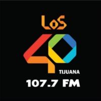 Logo of radio station XHRST LOS40 107.7