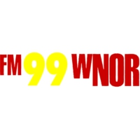 Logo of radio station WNOR 99.1 FM