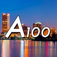 Logo of radio station A100