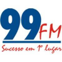 Logo of radio station Rádio 99.9 FM Belém