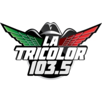 Logo of radio station KLNZ La Tricolor 103.5
