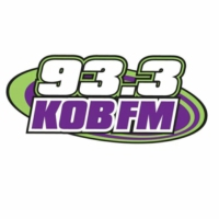 Logo of radio station KOB-FM 93.3