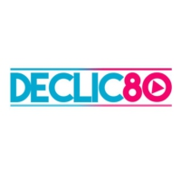 Logo of radio station DECLIC80