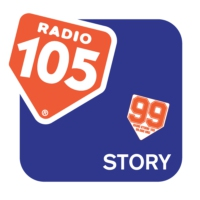 Logo of radio station Radio 105 Story