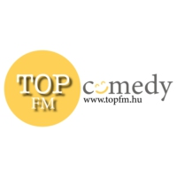 Logo of radio station TOP FM comedy