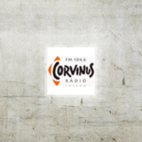 Logo of radio station Corvinus Radio