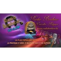 """Logo de la radio Radio Bonheur """"La Plus Populaire Des Radios"""""""