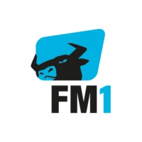 Logo of radio station FM1