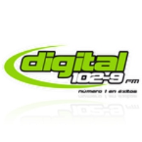 Logo of radio station Digital 102.9 FM