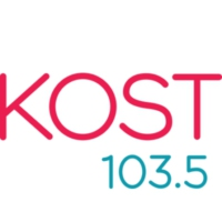 Logo of radio station KOST 103.5