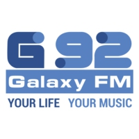 Logo of radio station Galaxy FM 92